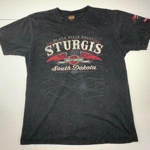 Harley Davidson Sturgis T Shirt Mens XL